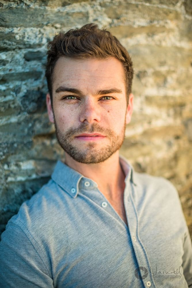 Tenor singer Ben Smith - Headshots, Only men aloud singer