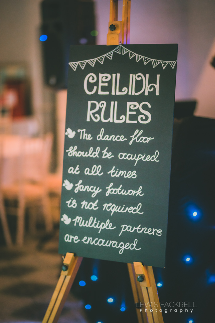 Ceilidh dancing rules