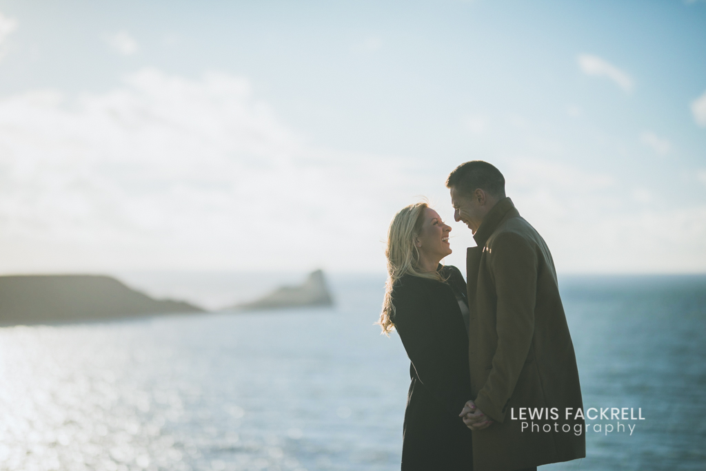 Gower engagement photo shoot