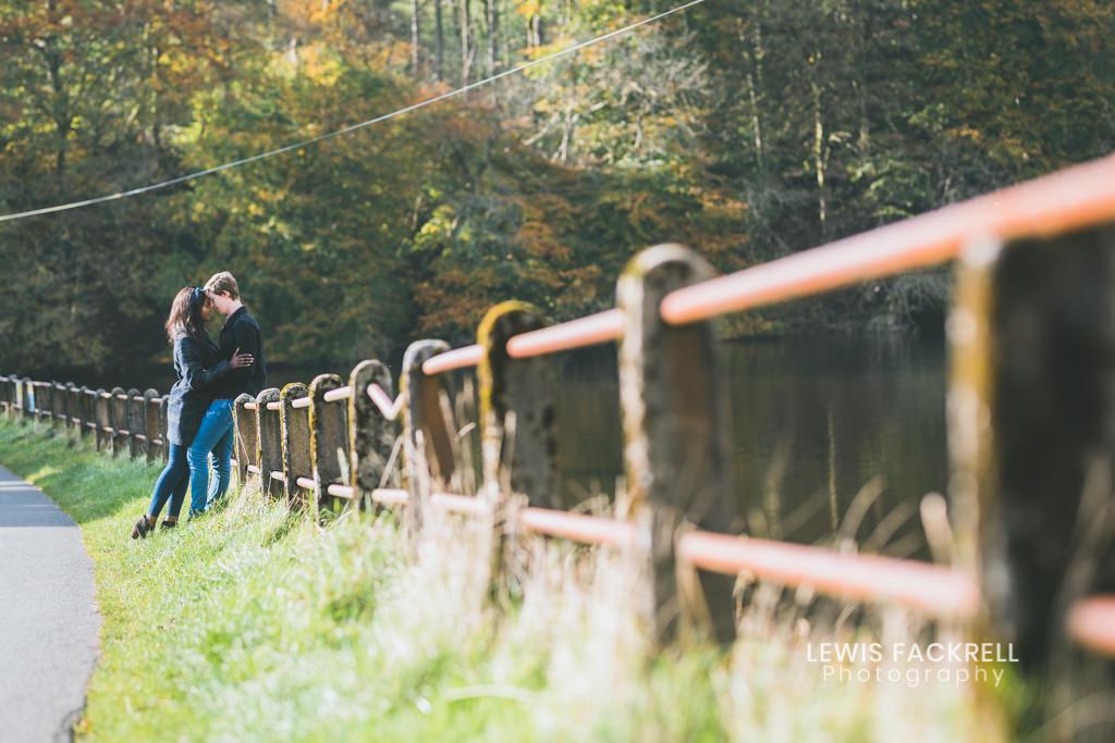 engagement photo shoot Brecon