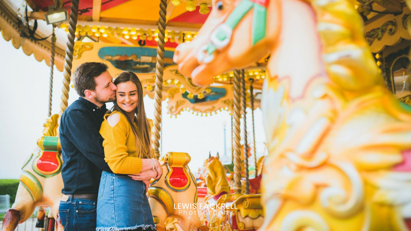 weymouth pre-wedding engagement session