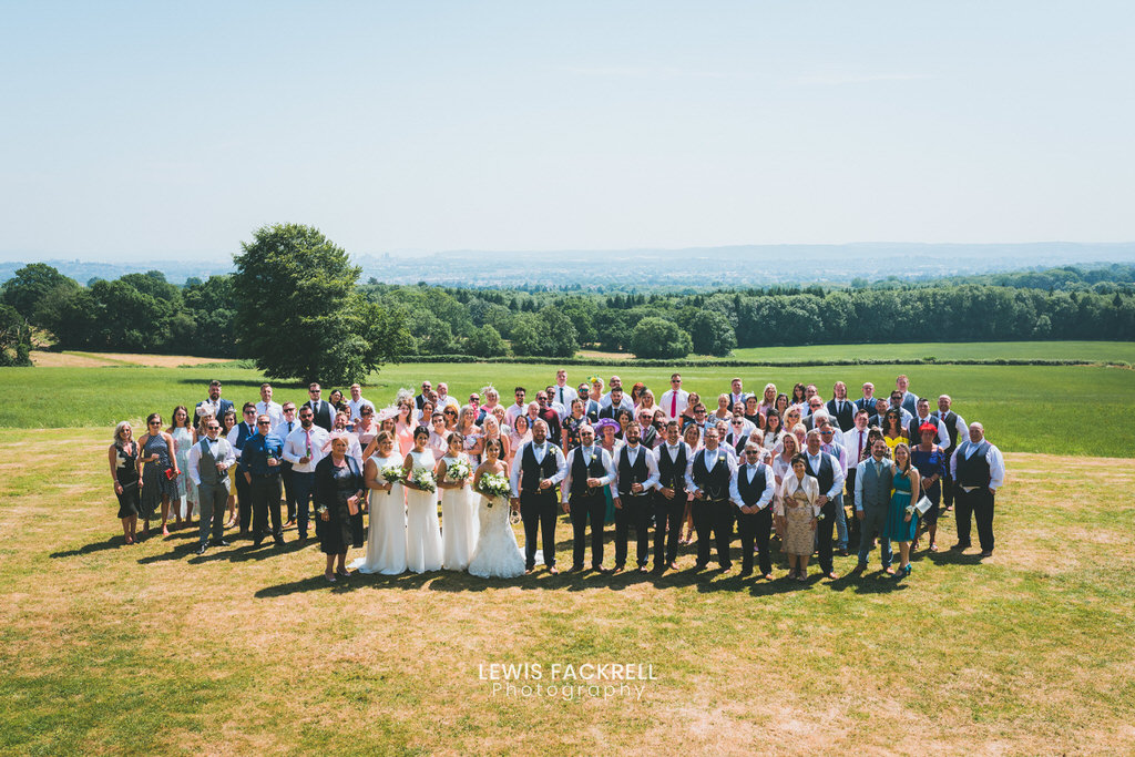 Group photos at New house hotel wedding photography