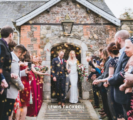 Pencoed-house-wedding-photography-confetti-exit