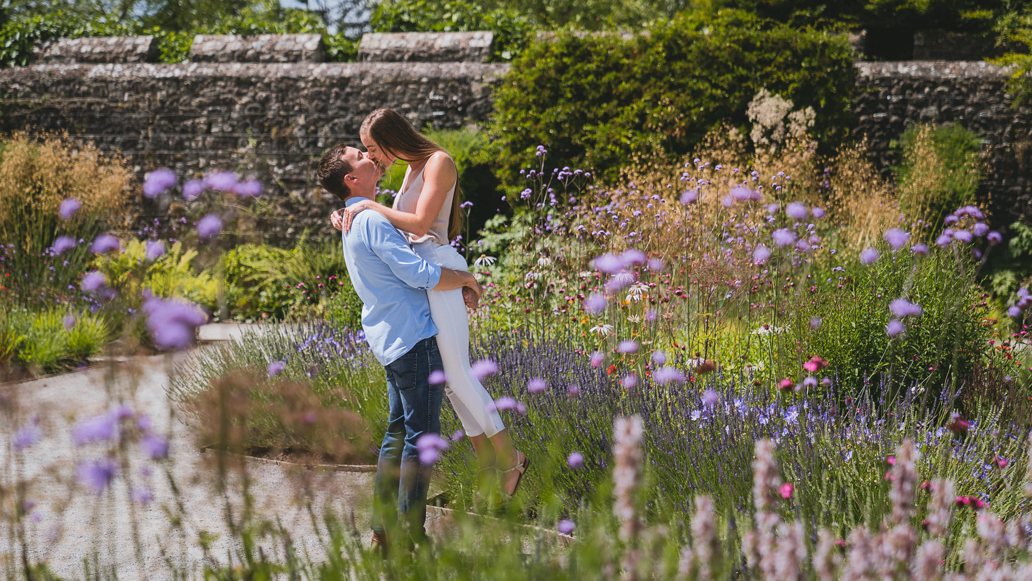 St Fagans pre-wedding photography session in Cardiff