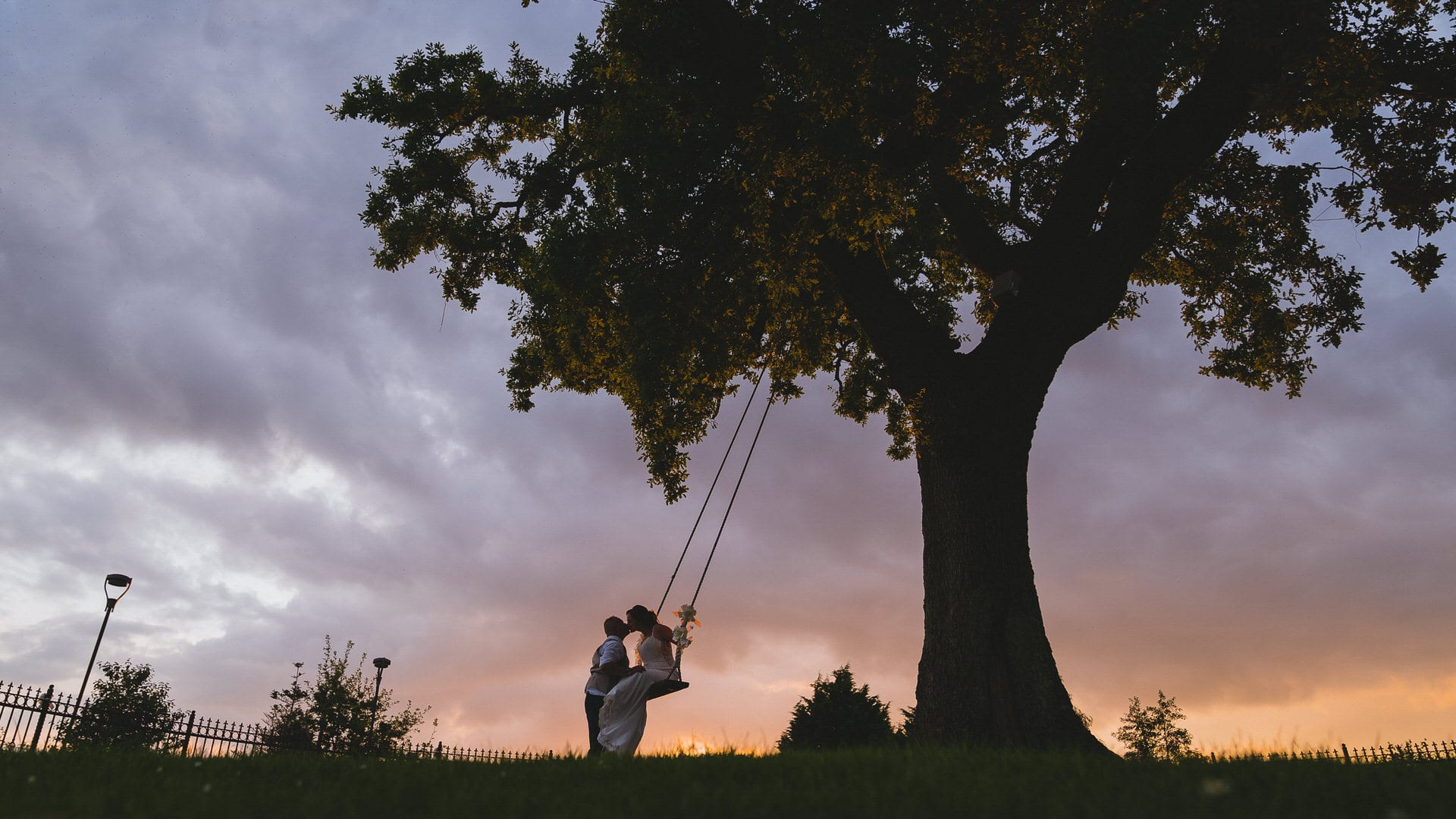 swing at Canada lodge