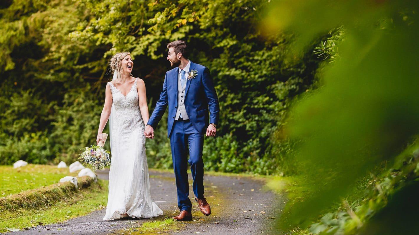 Summer wedding in Swansea captured by wedding photographer
