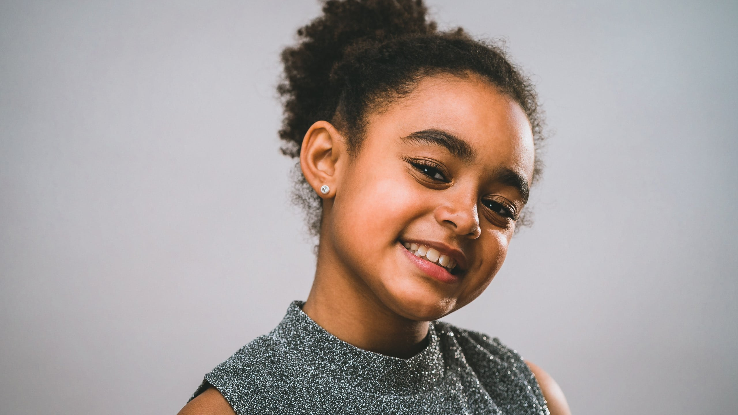 Child actor and performer head shots of Eva