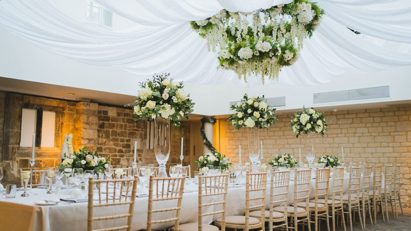 St Tewdrics House weddings and receptions